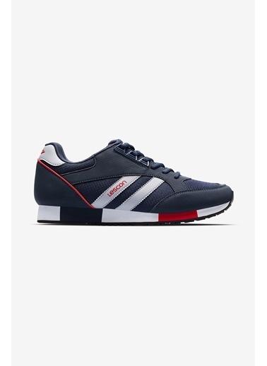 Lescon Boston 2 Lacivert Erkek Sneaker Ayakkabı Lacivert